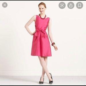Kate Spade 6 Jillian pink bow dress